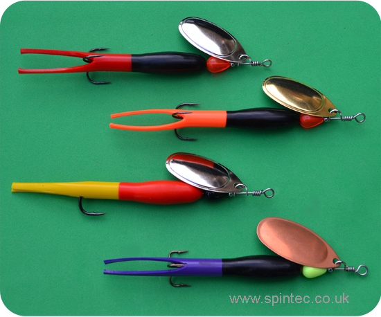 Spintec Flying C' - 6mm Double Colour Body - Single Hook or Treble